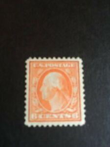 US Stamps Scott 506 MNH/OG 6 CENT WASINGTON ISSUED 1917-1919