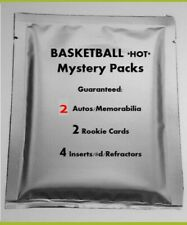 *RARE* Basketball MYSTERY PACK NBA 2 Hits! Jersey RC Patch Auto #'d Mosaic PRIZM