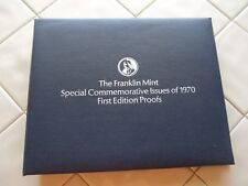 FRANKLIN MINT 1970 SPECIAL COMMEMORATIVE FIRST EDITION STERLING SILVER PROOF SET
