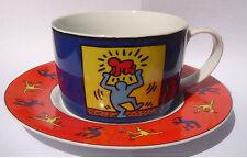 """Keith Haring: """"danseuse avec bébé""""grande tasse de collection"""