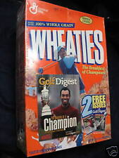 TIGER WOODS WHEATIES/GOLF DIGEST 2001 BOX SEALED