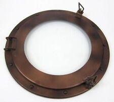 """15"""" Porthole Window Iron Antique ~ Cabin Porthole~ Ship Porthole ~Nautical Decor"""