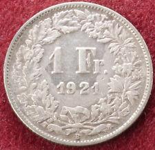 Switzerland 1 Franc 1921 (C1212)