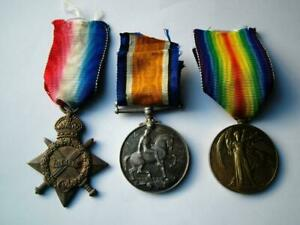 Officer WW1 medal trio Sub Lt Hubert S Read Royal Navy Reserve from Falmouth