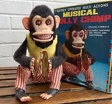 VINTAGE DAISHIN-MUSICAL Jolly Chimp-Toy Story simbolo giocando a Monkey 4910 in Scatola