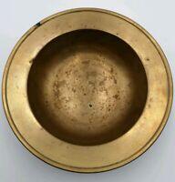 Piatto Ottone 725 gr Vintage 21 cm Piatto Centrotavola Vaso Soprammobile Antico