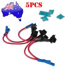 5 x Add A Circuit Fuse Tap MICRO Fuse Holder APS ATT mini LOW PROFILE FREE FUSE