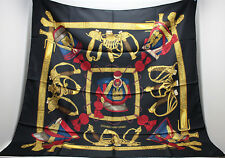 [Auth]Hermes Silk Scarf ~Grand Uniforme~ Free shipping #65142
