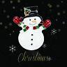 Eg _ Natale Pupazzo di Neve Smalto Distintivo Spilla da Bavero Gioielli Nuovo Tr