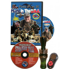 Buck Gardner Double Nasty Duck Call Combo Kit Calling Coach Straight Talk Cd