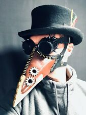 Steampunk My Hero Plague Doctor Mask Tokoyami Fumikage Cosplay Adult Masks
