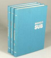 PRL) ENCICLOPEDIA MONDO SUB 3 VOL. 1979 UNDERWATER SUBAQUATICO подводный SNORKEL
