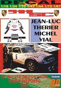 DECAL PORSCHE 911 SC J-L.THERIER R.PORTUGAL 1981 DnF (06)