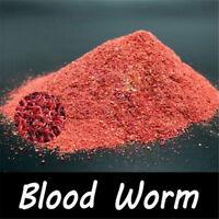 Natural Red Worm Powder Fish Food Lures Buster Carp Killer Baits Fishing Tackle