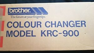 RARE BROTHER KNITTING MACHINE BULKY KH260 KRC900 4 FOUR COLOUR YARN CHANGER