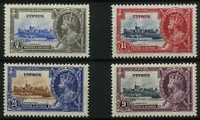 Cyprus - SG 144-147 - 1935 - Silver Jubilee Set of 4 - Mounted Mint
