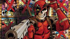 Poster 42x24 cm Deadpool 2 Marvel Comic Cartel Film 08