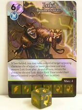 Dice Masters - 1x #113 Loki Brotherly Hate Foil - The Mighty Thor
