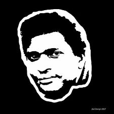 Charley Pride Country Singer Songwriter Music Car White Guitar Decal Sticker
