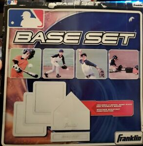 Franklin Sports Throw Down Baseball Bases - 5pc Set - Officially Licensed- NEW