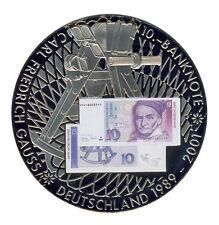 DEUTSCHLAND - 10 DM - Carl Friedrich GAUSS - BANKNOTE Erstabschlag - FARBE