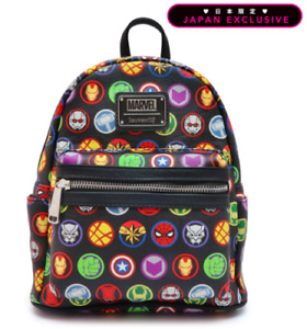 Loungefly X Marvel Comics Avengers Icons Mini Backpack Japan Exclusive