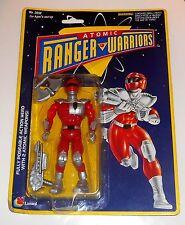 Vintage 1994 Lanard Toys - Atomic Ranger Warriors ~ RED RANGER ~ New on Card MOC