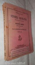 STORIA ROMANA Libri X XX Tito Livio Jacopo Nardi Chiurazzi 1888 Classici latini