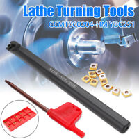 10mm S10K-SCLCR06 Lathe Turning Tool Holder Boring Bar + Carbide Inserts +Wrench