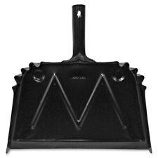 "Dust Pan, Metal, 20 Gauge Steel, 15.5""x16"", Black GJO85151"