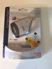 NIB Compact Flash Card Reader/Writer PC/ MAC Supported Pocket Sizes Hotswappable