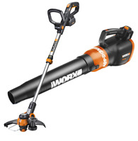 WORX WO7033 40V Turbine Leaf Blower & Cordless Trimmer Powershare WG180 / WG580