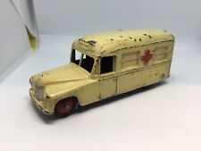 Dinky Toys, Daimler, Ambulance, (Ref Grey 642) Cream With Red Hubs