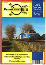 Drehscheibe Mar / Apr 2016, Issue 270 DB Deutsche Bahn