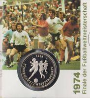 Numisbrief Deutschland 1974 Fußball WM 1994 100 + 50 Pfg Briefmarke Stempel Bonn