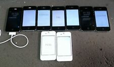 LOT OF 9 Apple iPhone 4s Black / WHITE A1387