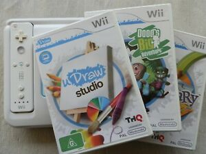 Wii - uDraw Tablet Including Wii Remote & 3 Games - Very Good Condition