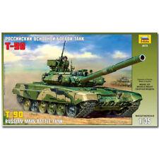 ZVEZDA 3573 T-90 russian MBT CARRO ARMATO MODELLO MILITARE KIT 1:35