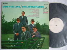 PROMO WHITE LABEL / THE ASTRONAUTS DOWN THE LINE / 60'S LAMINATED FLIP BACK COVE