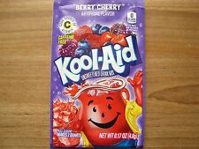 10 Kool Aid Drink Mix BERRY CHERRY powdered flavor popsicle summer vitamin C New