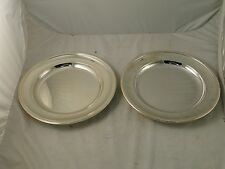 CHRISTOFLE SERVING PLATES SILVER PLATED 1870 LARGE SIZE, GREAT CONDITION, MARKED
