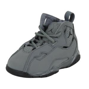 Nike Air Jordan True Flight BT Toddlers Shoes Leather Grey Sneakers 343797 027