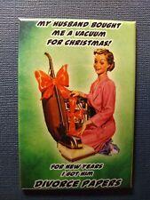 Zingers Funny Gag Gift - Divorce  - Refrigerator / Fridge Magnet 2 x 3 inch
