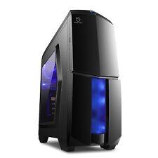 Caja Semitorre Gaming Hiditec Ng-x1 Black Card Reader USB 3.0 si Cha010004