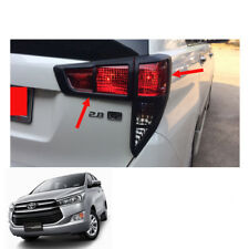 2016 17 Tail Lamp Light Cover Trim Matte Black Fits Toyota Innova Crysta AN140