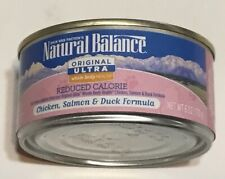 Natural Balance Ultra Premium Salmon 24 Wet Can Cat Food 6 Ounce Cans 3/2021