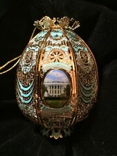 2016 White House 24kt Gold Finish Easter Egg Collection