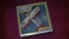 Matchbox (Mukpo 67) - Bulgarian Sky-Busters - Bi-Plane - White & Pink