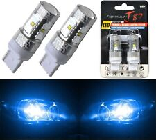 LED Light 30W 7440 Blue 10000K Two Bulbs Rear Turn Signal Replacement Lamp