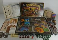 Hero Quest Board Game System UNPAINTED FIGURES only missing one piece FREE SHIP